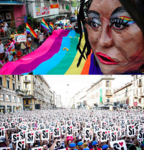 (top: Jay Directo/AFP/Getty Images, bottom: Roberto Finizio/Pacific Press/Lightrocket/Getty Images)
