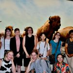 Group photo of workshop participants at the Manitoba Museum.