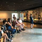 Workshop participants during the Pride Tour at the CMHR.