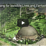 Screenshot of a graphic recording from YouTube. Features an illustrated photograph of the Manitoba Museum with green foliage.